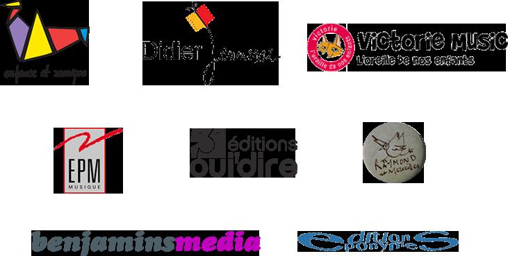 logos des labels Jeune public